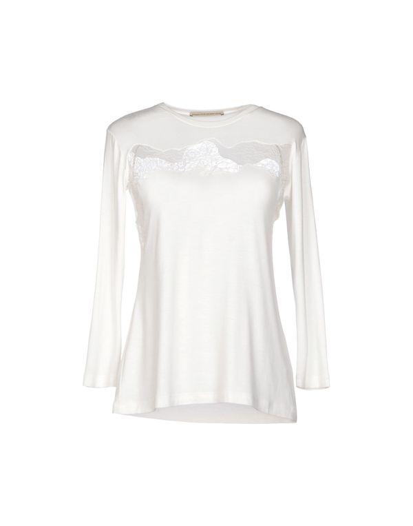 白色 ERMANNO SCERVINO T-shirt