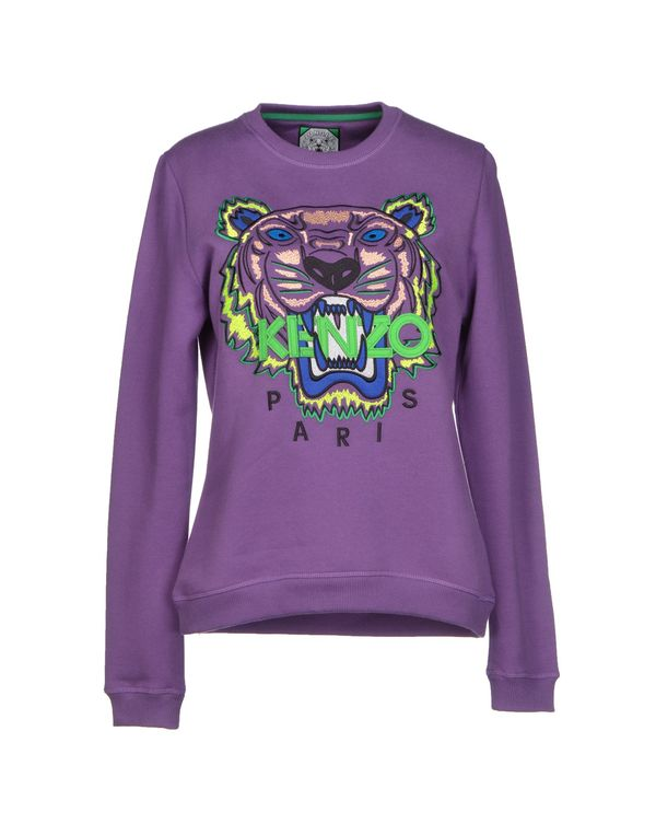 紫色 KENZO 运动服