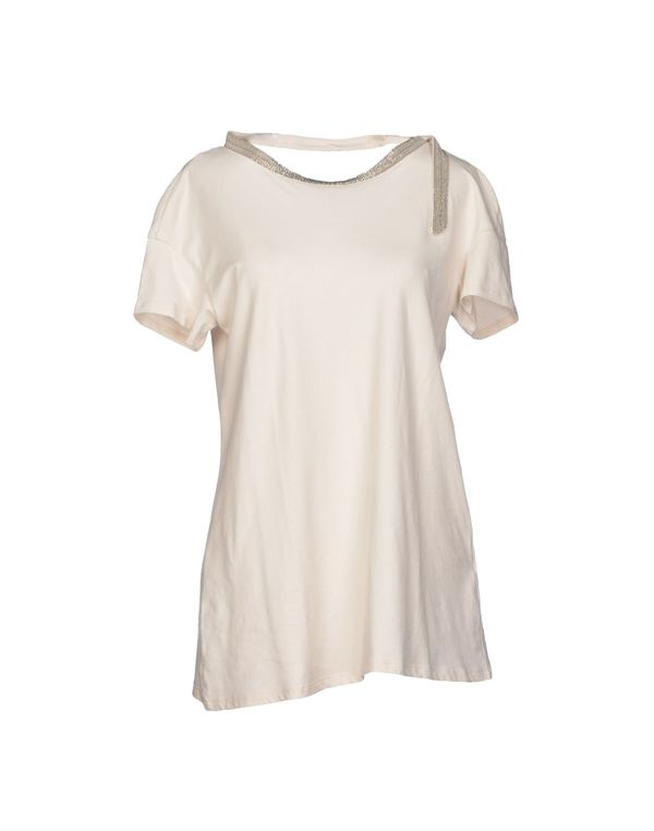 象牙白 BRUNELLO CUCINELLI T-shirt