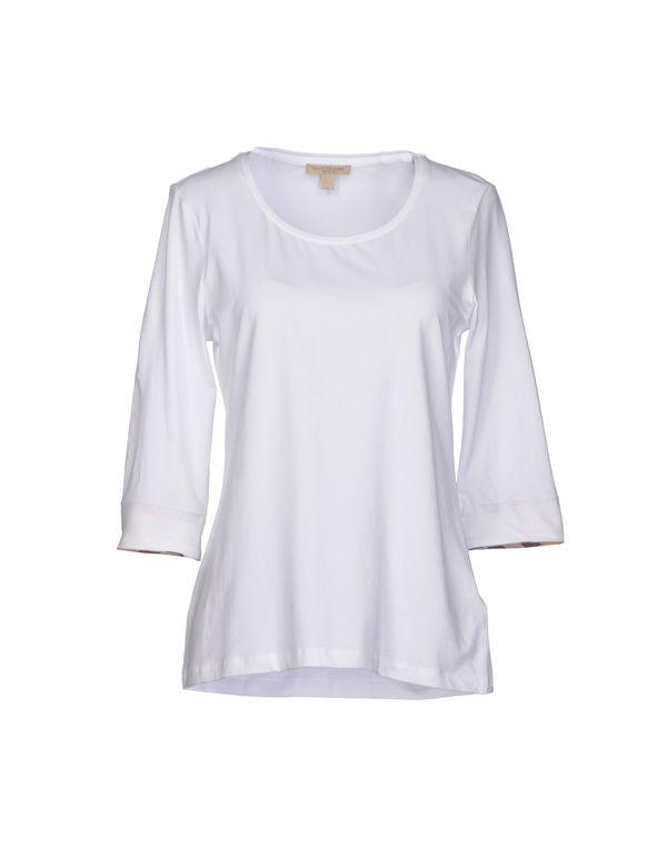 白色 BURBERRY BRIT T-shirt