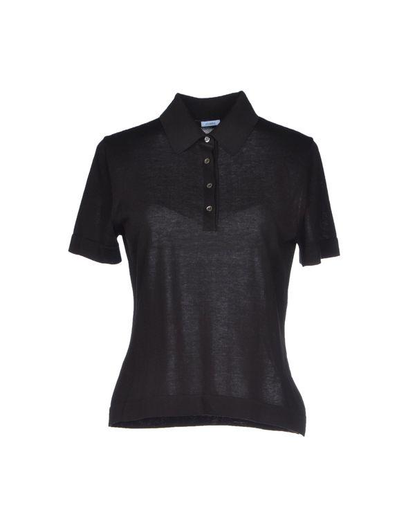 黑色 MALO Polo衫