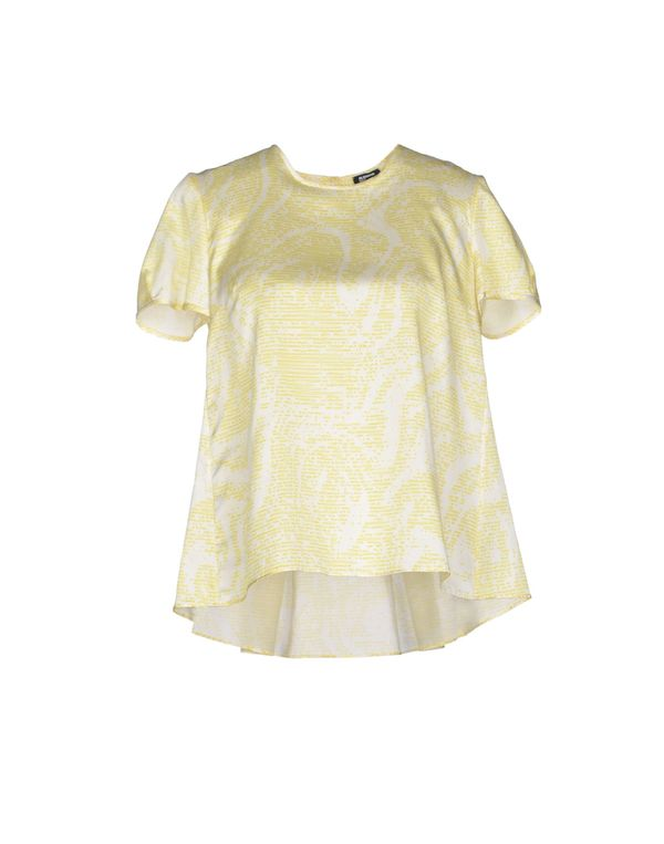 浅黄色 JIL SANDER NAVY 女士衬衫
