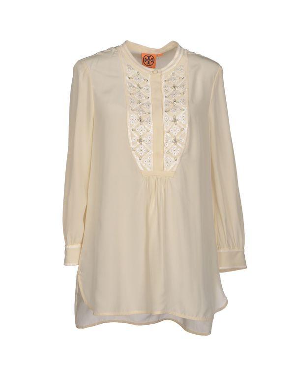 象牙白 TORY BURCH 女士衬衫