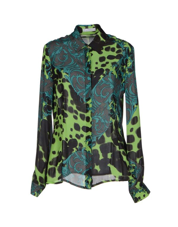 浅绿色 VERSACE COLLECTION Shirt