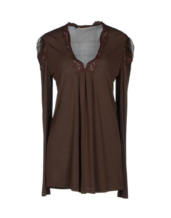棕色 SCERVINO STREET 女士衬衫