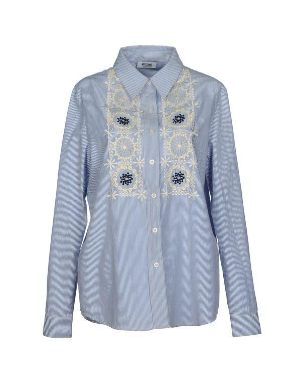蓝色 MOSCHINO CHEAPANDCHIC Shirt