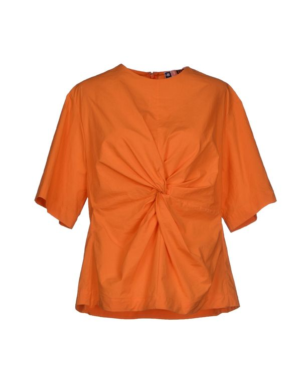 橙色 MSGM 女士衬衫