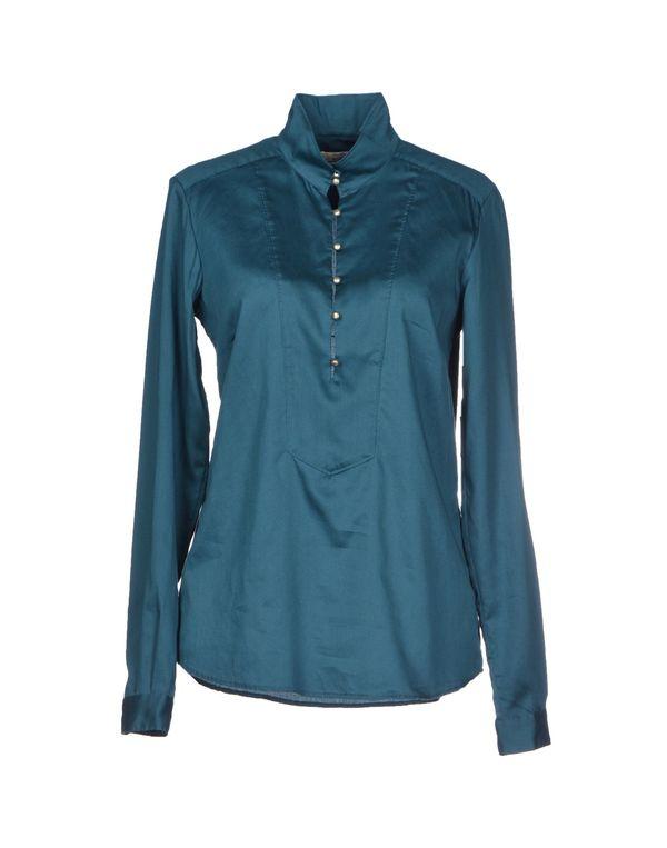 孔雀绿 M.GRIFONI DENIM 女士衬衫