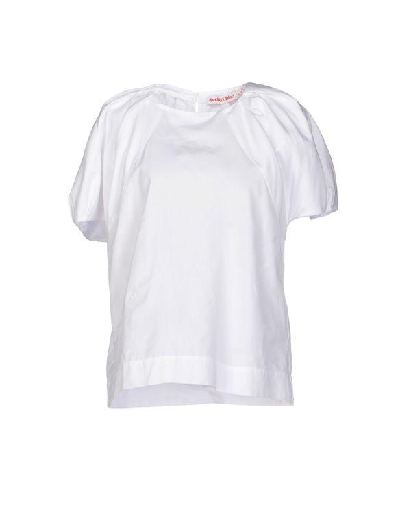 白色 SEE BY CHLOÉ 女士衬衫