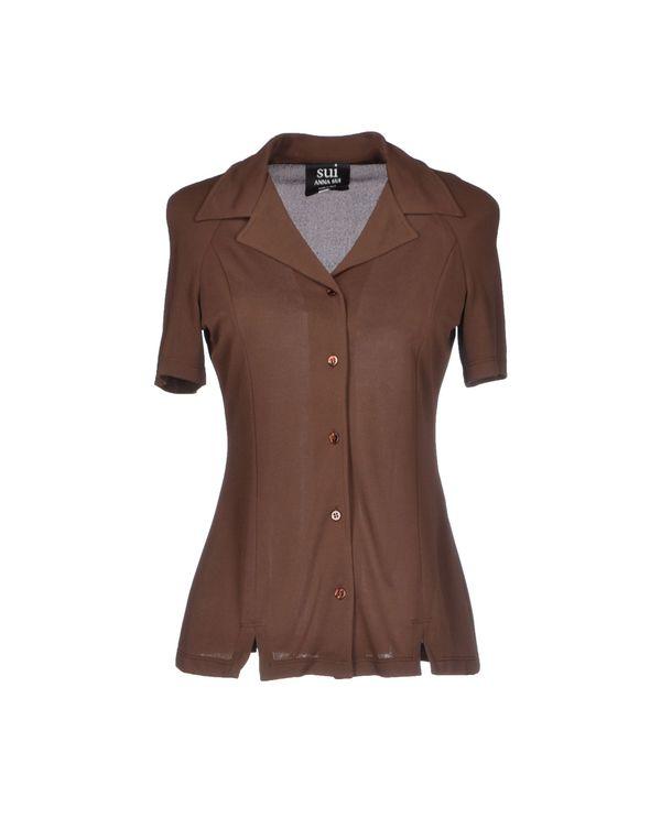 巧克力色 ANNA SUI Shirt
