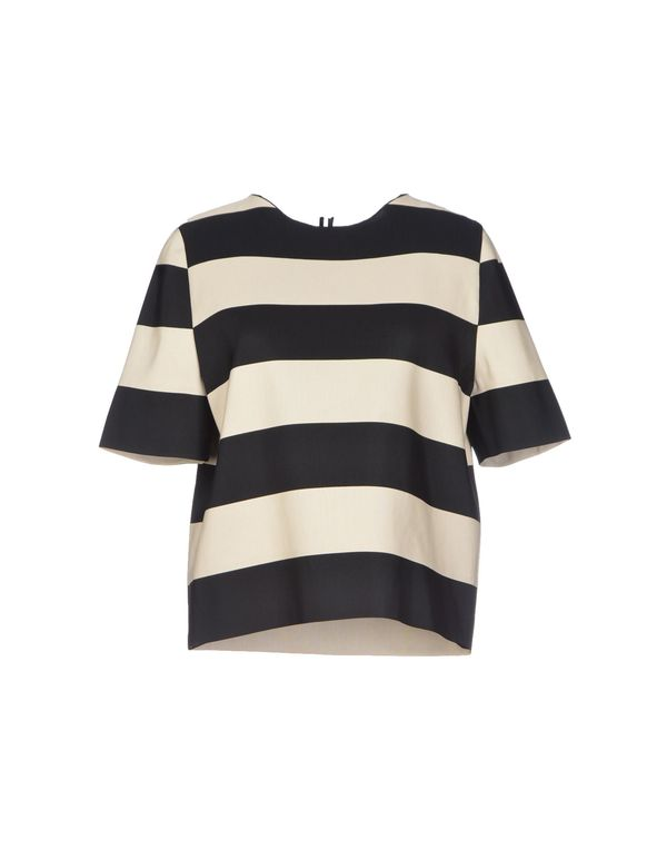 黑色 LANVIN 女士衬衫