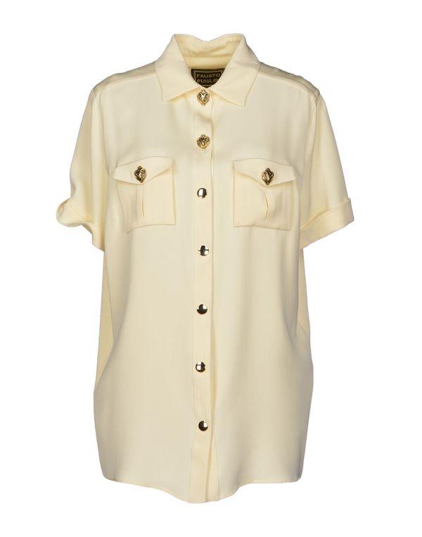 象牙白 FAUSTO PUGLISI Shirt