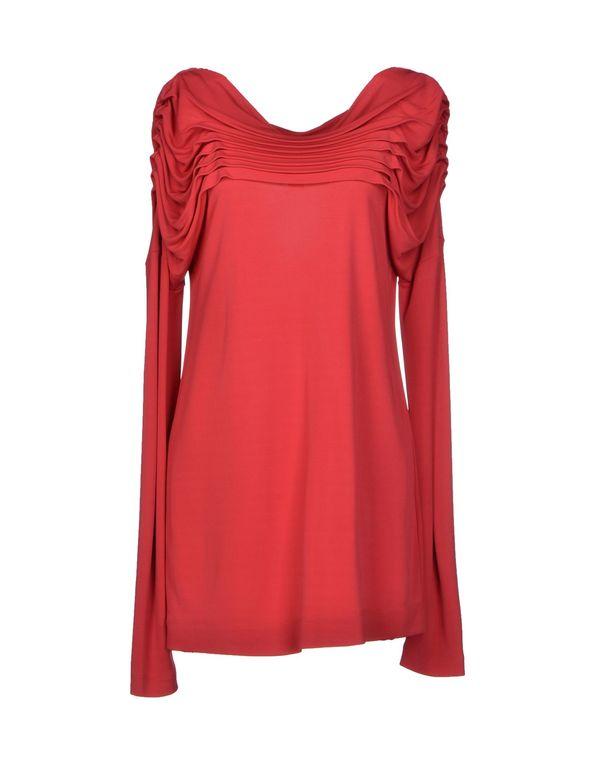 红色 CLASS ROBERTO CAVALLI T-shirt