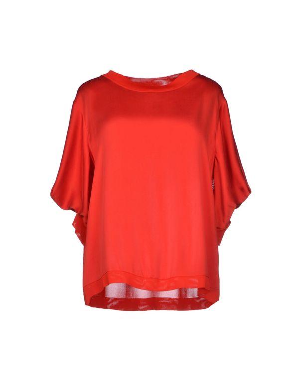 红色 BLUMARINE 女士衬衫