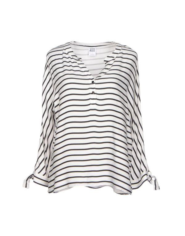 白色 VERO MODA 女士衬衫