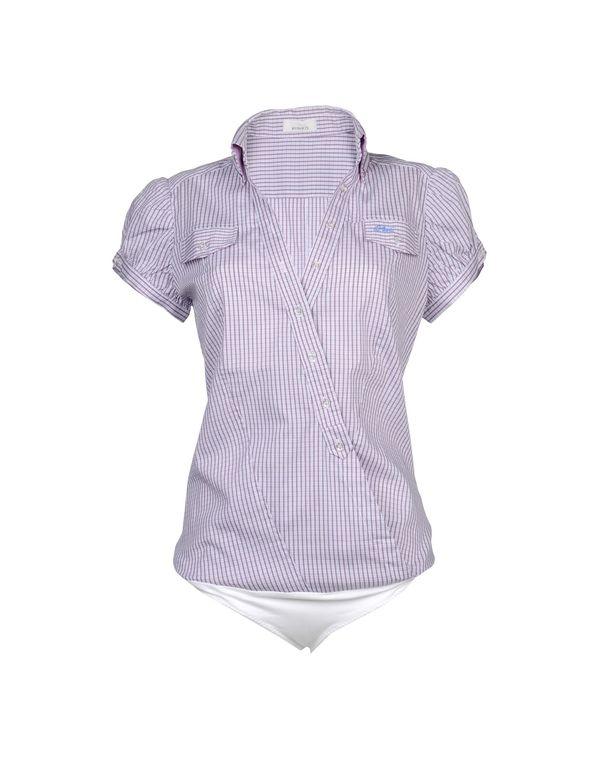 紫色 PINKO Shirt
