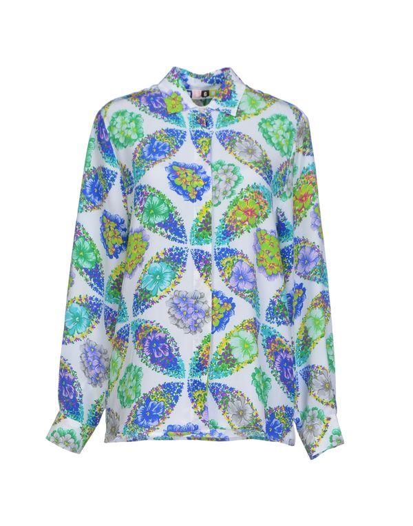 绿色 MSGM Shirt