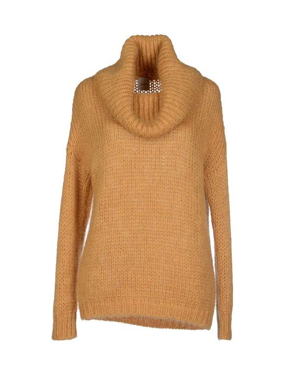 赭石色 ...À_LA_FOIS... 圆领针织衫