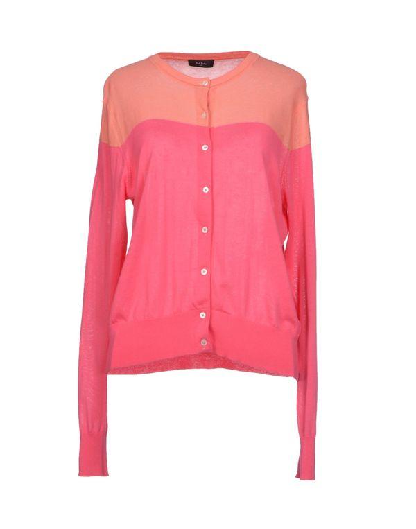 粉红色 PAUL SMITH BLACK LABEL 针织开衫
