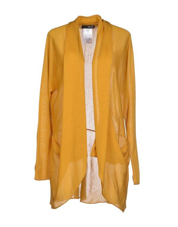 赭石色 LIU •JO 针织开衫