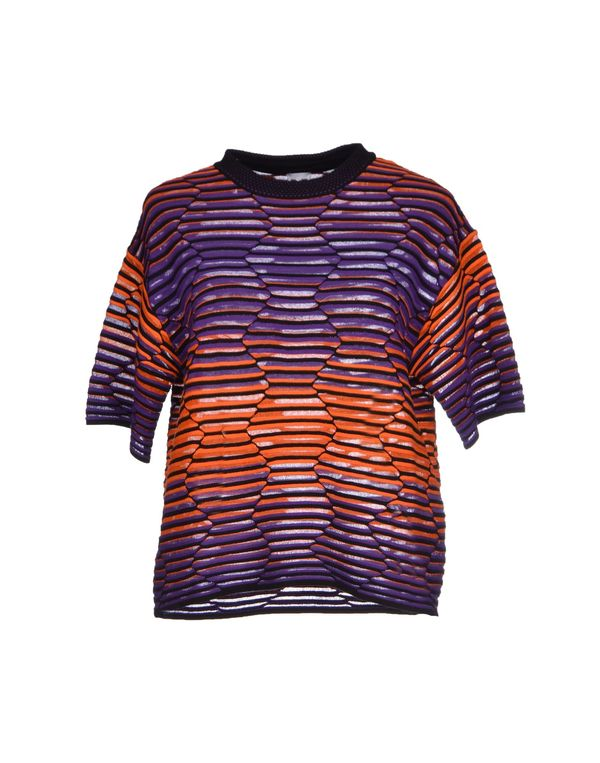 紫色 M MISSONI 套衫