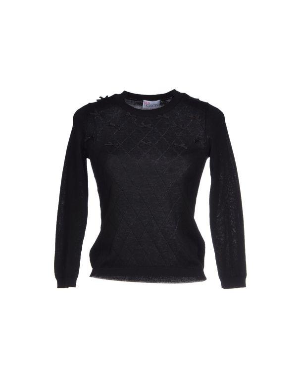 黑色 REDVALENTINO 套衫