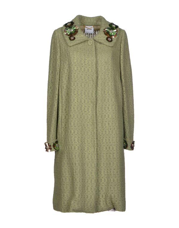 浅绿色 MOSCHINO 大衣