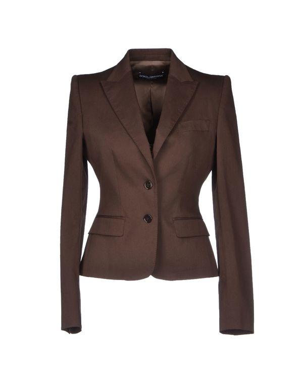 棕色 DOLCE & GABBANA 西装上衣