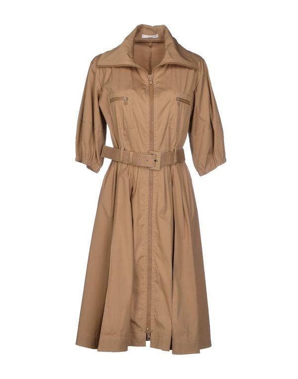 浅棕色 PRADA 外套