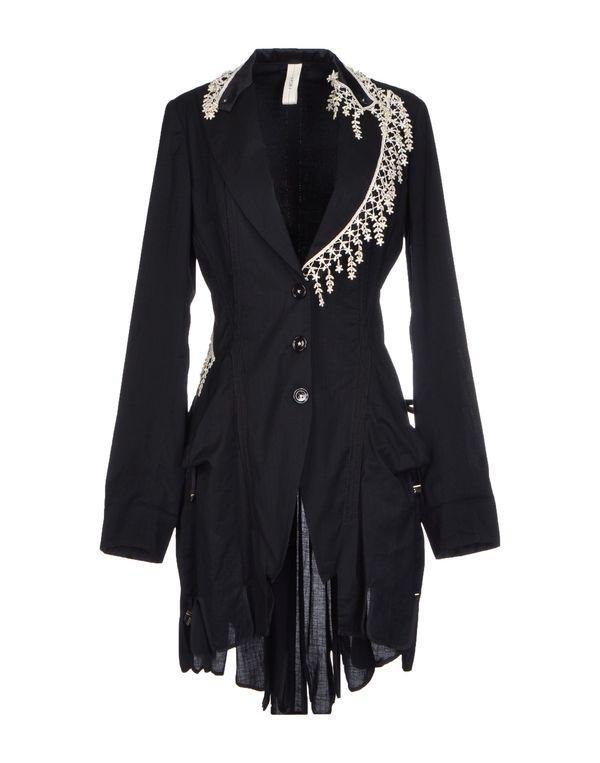 黑色 HIGH 大衣