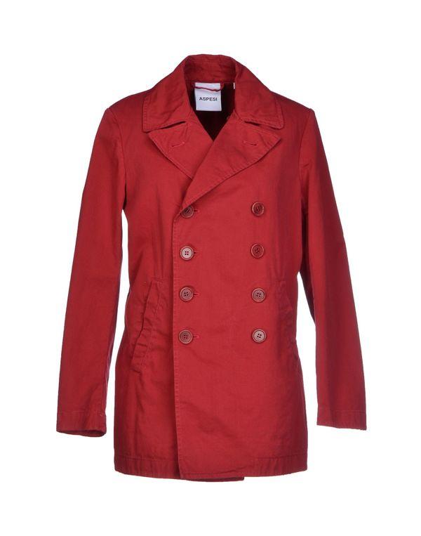 砖红 ASPESI 牛仔外套