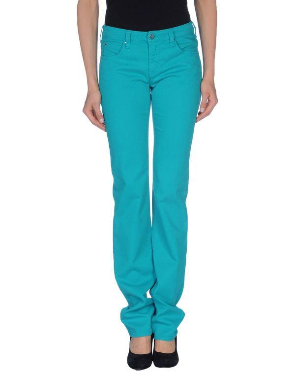 蓝绿色 ARMANI JEANS 牛仔裤