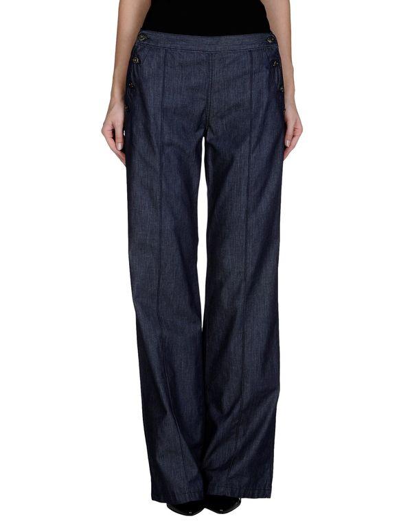 蓝色 MIU MIU 牛仔裤
