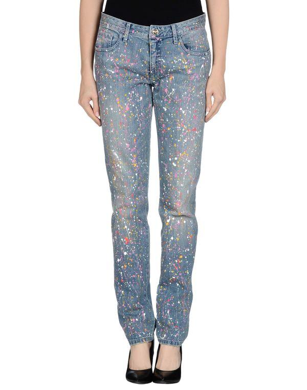 蓝色 BLUGIRL BLUMARINE 牛仔裤