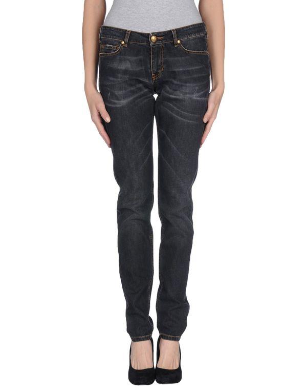 黑色 LOVE MOSCHINO 牛仔裤