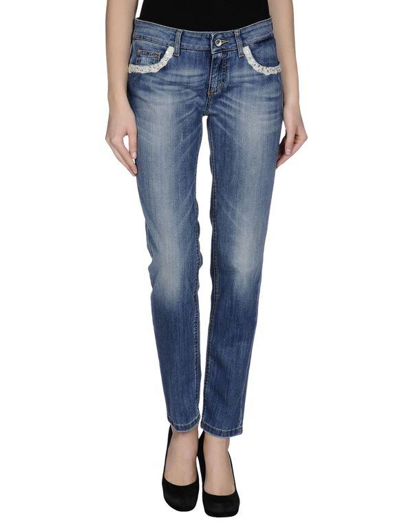 蓝色 AJAY 牛仔裤