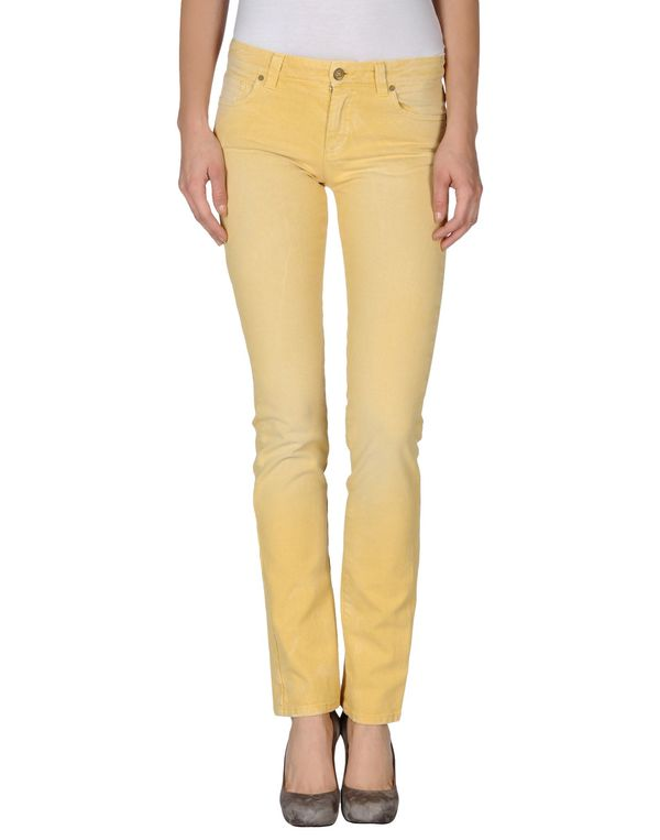黄色 ICE ICEBERG 牛仔裤