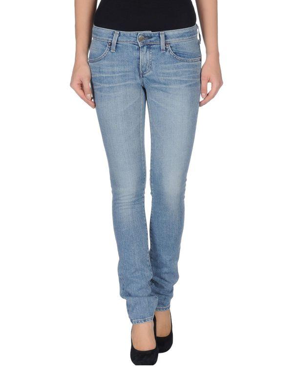 蓝色 EDWIN 牛仔裤