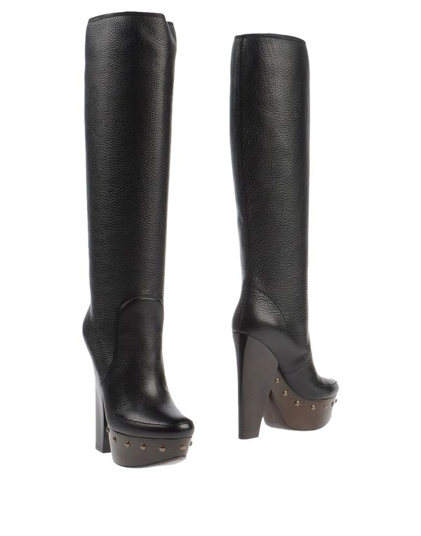 黑色 LANVIN 靴子