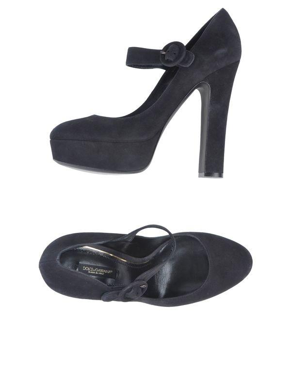 青灰色 DOLCE & GABBANA 高跟鞋