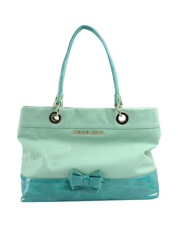 浅绿色 ARMANI JEANS Handbag