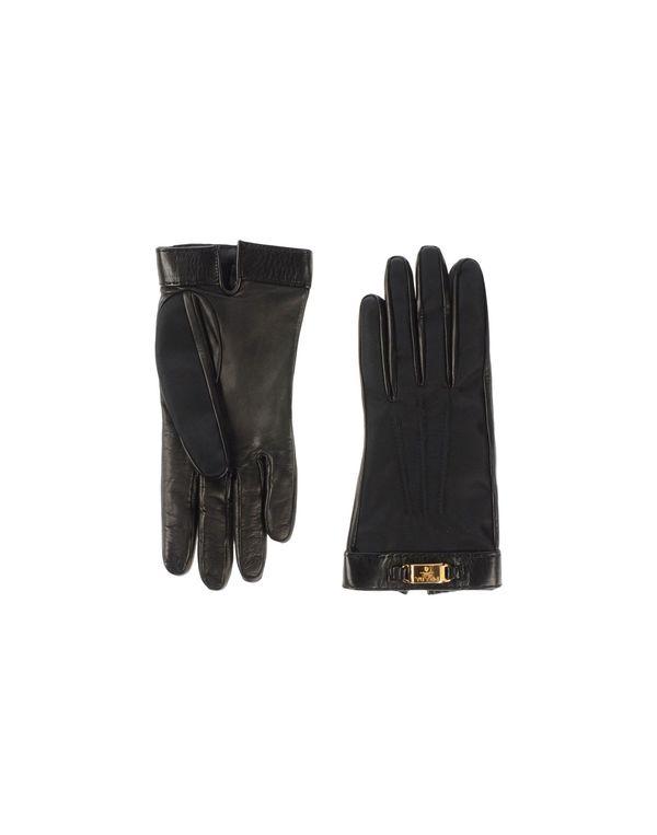 黑色 PRADA 手套