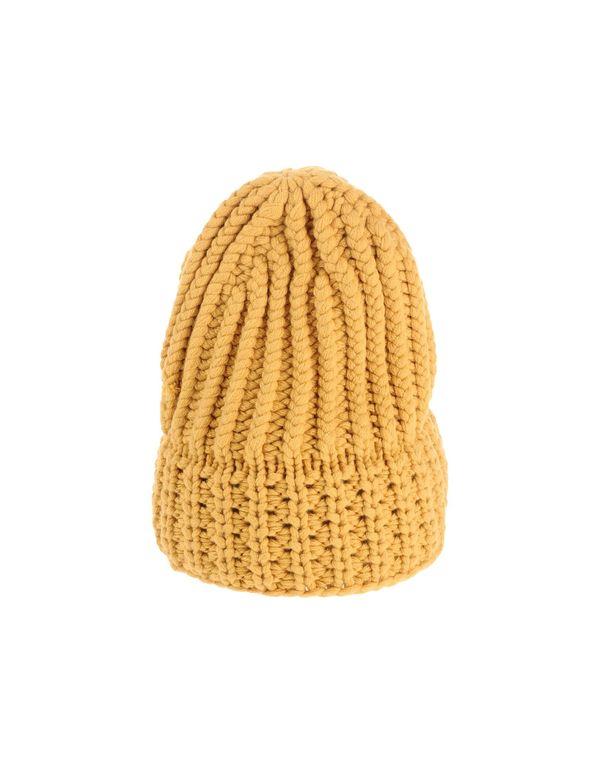 赭石色 AGNONA 帽子