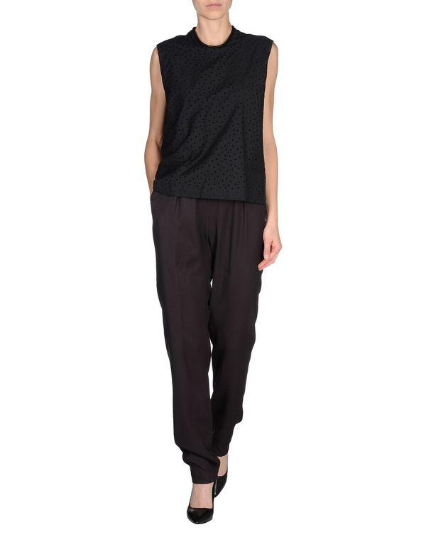 黑色 DAMIR DOMA 连身长裤