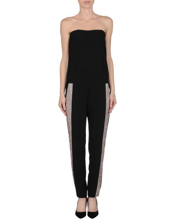 黑色 PINKO 连身长裤