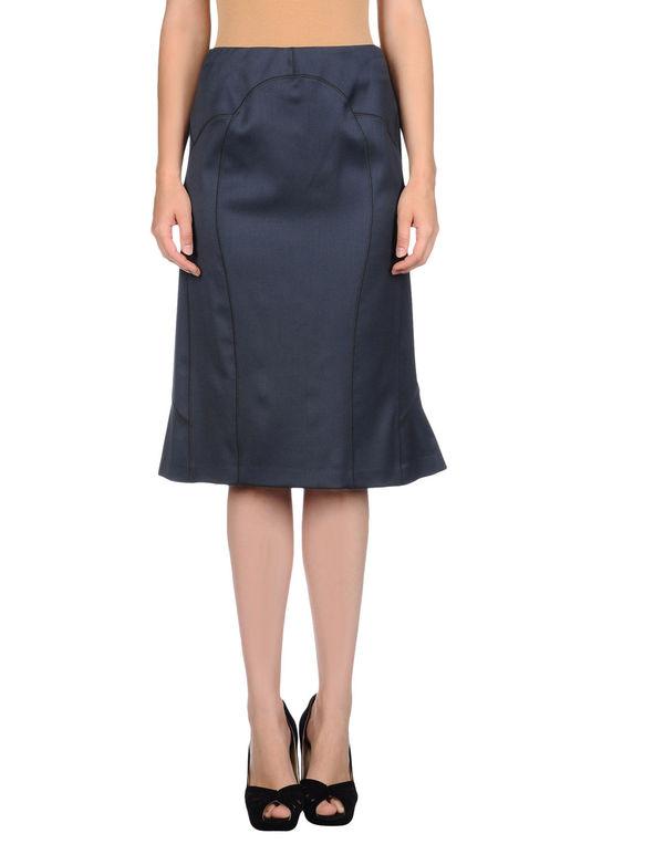青灰色 ROBERTO CAVALLI 半长裙