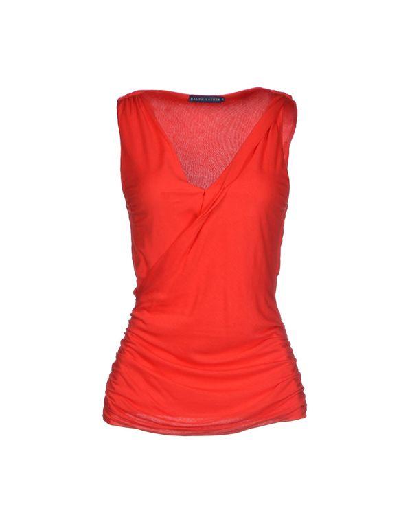 红色 RALPH LAUREN T-shirt