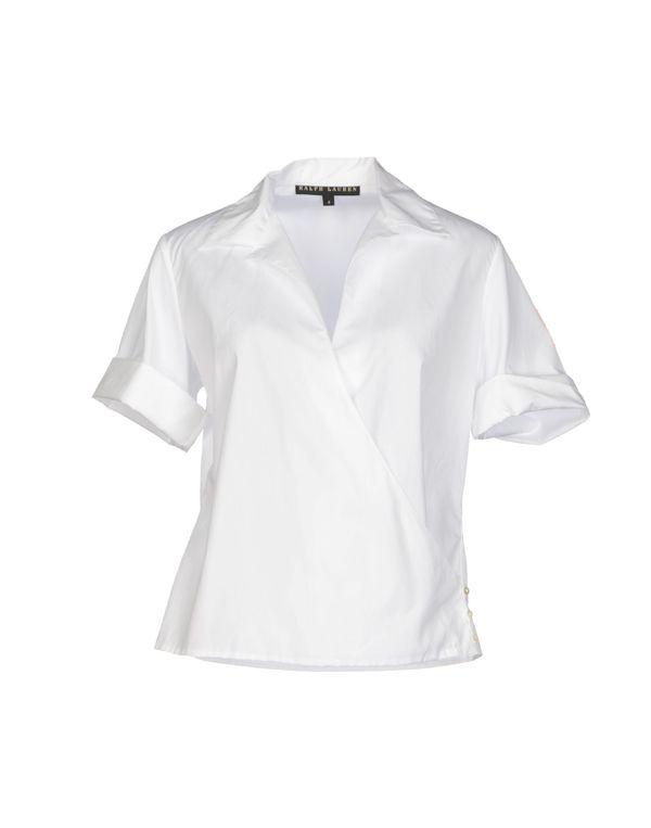 白色 RALPH LAUREN BLACK LABEL Shirt