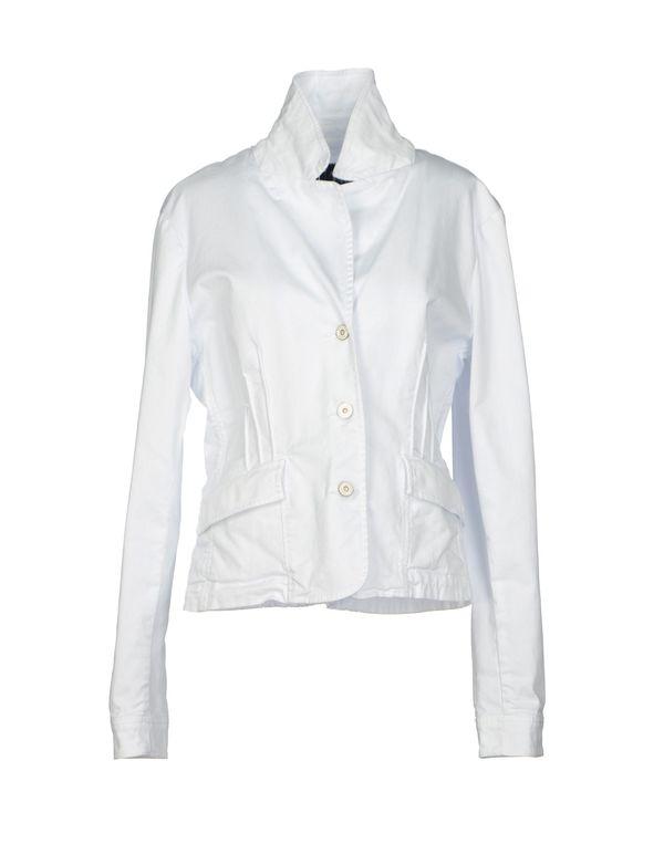白色 ARMANI JEANS 西装上衣