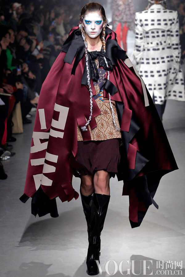 Vivienne Westwood2013秋冬时装秀